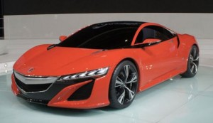 Detroit 2013: Acura/Honda NSX in production version