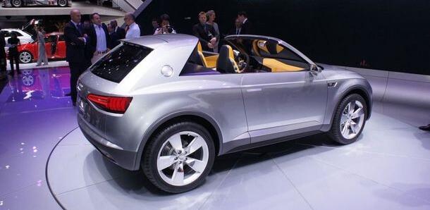Audi crosslane coupe
