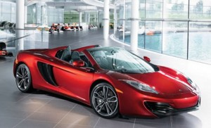 Neiman Marcus sells 12 McLaren MP4-12C Spider in two hours