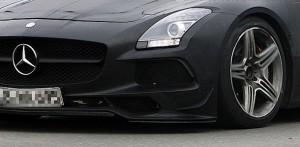 Mercedes SLS AMG Black Series: powerful rumor