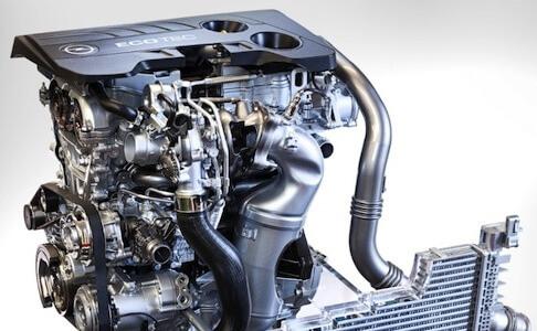 Opel 1.6l turbo petrol engine