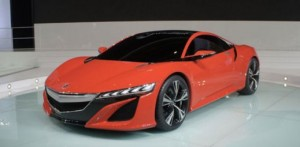 A baby NSX in the cartons of Honda?