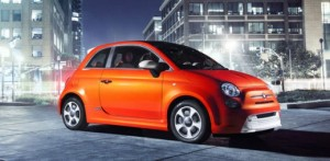 Los Angeles 2012: Fiat 500E, the first photos