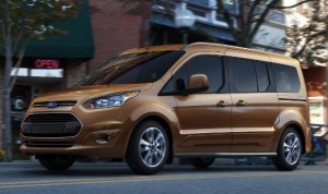 The new Ford Transit Connect Wagon arrives in the United States