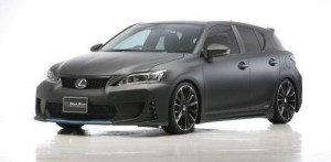 Lexus CT200h 'Black Bison' by Wald International