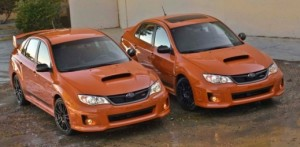 Subaru WRX and STI special edition