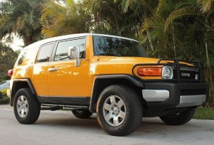 Toyota FJ Cruiser: trial test