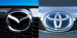 A new Toyota produced by Mazda in the Mexico
