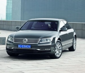 Waiting for the new: Volkswagen Phaeton Premium