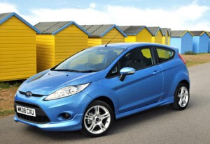 Ford Fiesta features the Active City Stop system