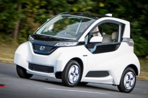 Honda Micro Commuter production approach