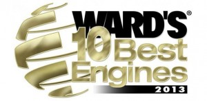 The 10 Best Engines of 2013 in the U.S. according to Ward's Auto