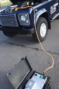 Land Rover Defender Electric