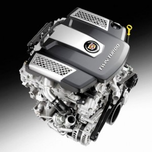 V6 Twin Turbo 425 hp for the new Cadillac CTS