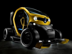 Renault presents the Twizy Renault Sport F1 Concept