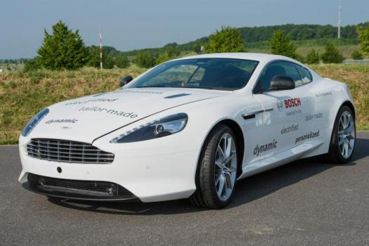 Aston Martin DB9 hybrid rechargeable