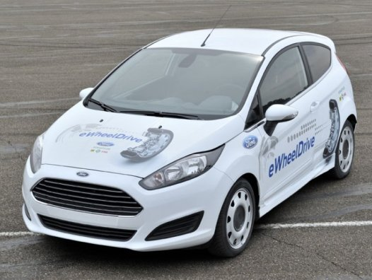 Ford and Schaeffler have eWheelDrive