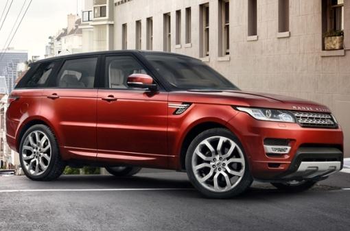 Range Rover and Range Rover Sport Hybrid: cap on Frankfurt