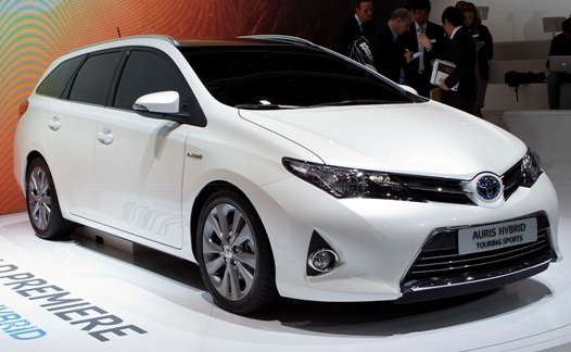 Production start for the Toyota Auris Touring Sports in Burnaston