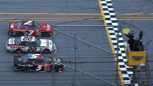 NASCAR Nationwide: First victory for JR Motorsports