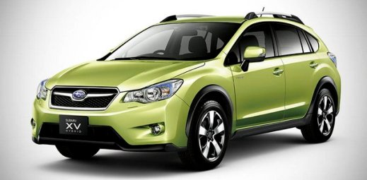 The Subaru XV Hybrid launched in Japan