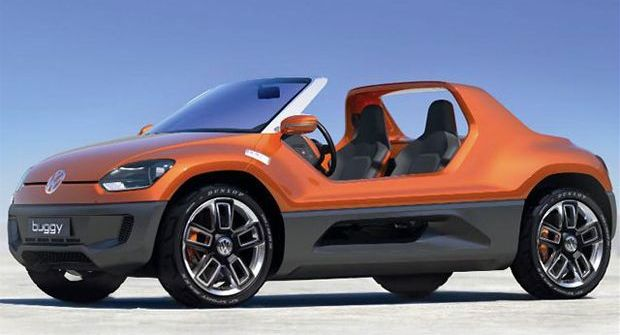 VW Buggy Up! Towards dunes and beaches?