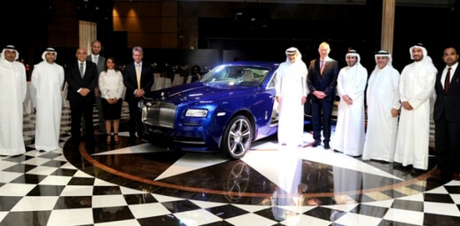 The Rolls-Royce Wraith launched in Bahrain