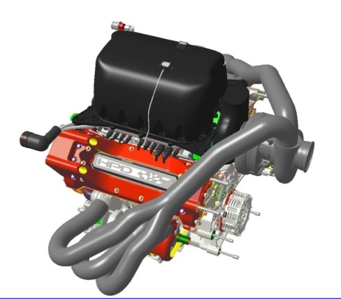 WEC 2014: HPD shows its future LMP1 engine
