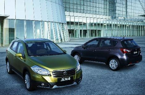 Suzuki SX4 S-Cross: from €18,990