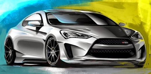 Hyundai Genesis Coupe Legato Concept