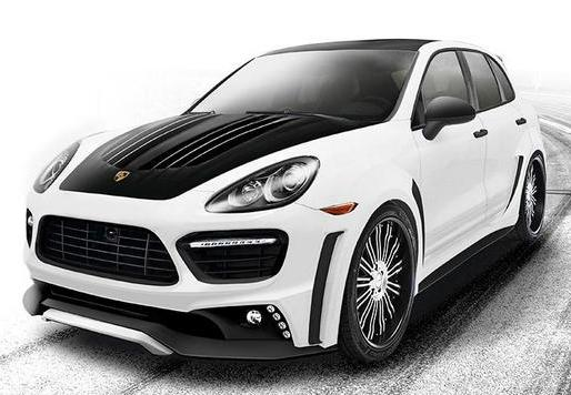 Porsche Cayenne Turbo Black Bison by Wald International