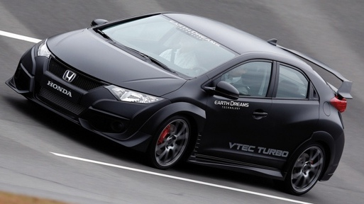 Honda shows the Civic Type R