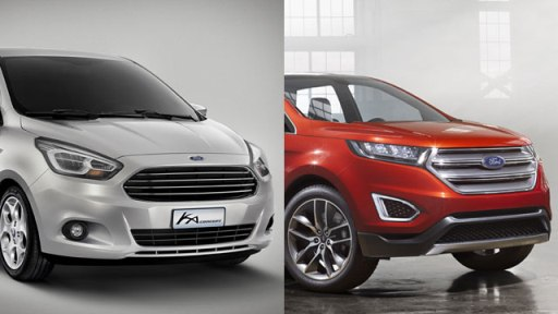 Ford, Ka and Edge confirmed for Europe