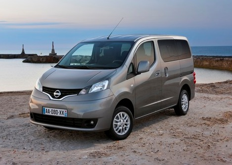 Nissan NV200: new minor for 2014 range