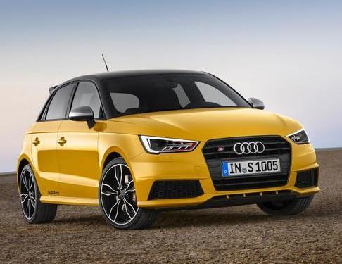 2014 Geneva Motor Show: Audi S1 and S1 Sportback