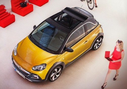 Opel Adam Rocks, the clip