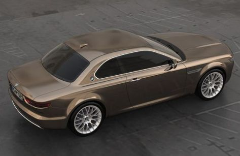 BMW CS Vintage Concept: a virtual revival of BMW E9