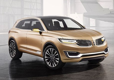Beijing 2014 : Lincoln MKX concept