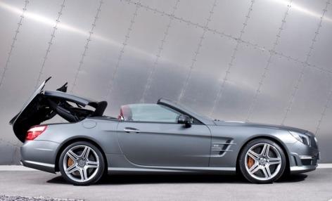 Mercedes SL63 AMG: Details