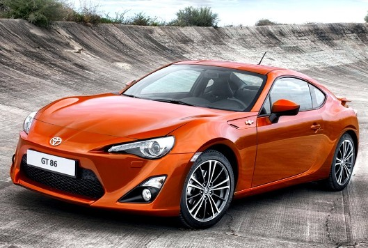 2015 Toyota GT86 in preparation