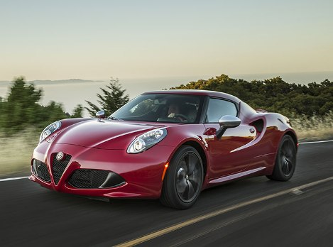 Alfa Romeo 4C in American star