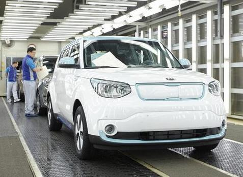 Kia Soul EV: Production launched