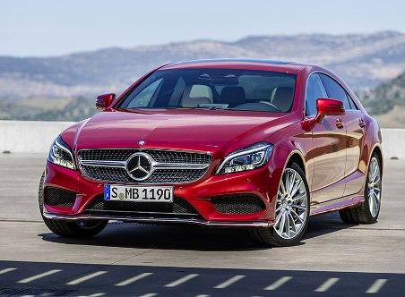 Mercedes CLS, discrete update
