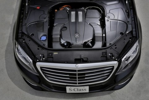 Mercedes S500 Plug-In Hybrid: the final figures