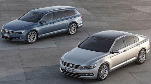 2014 Paris: Volkswagen Passat