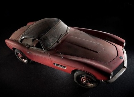 The Elvis Presley BMW 507 renovated soon