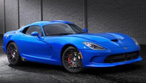 Dodge Viper GTS Blue Ceramic Edition