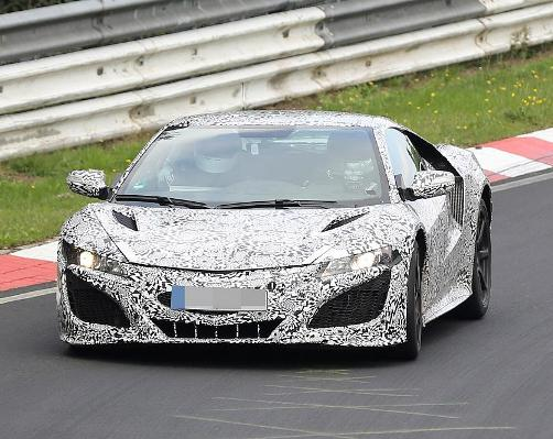 Spyshot: Honda NSX on the Nordschleife