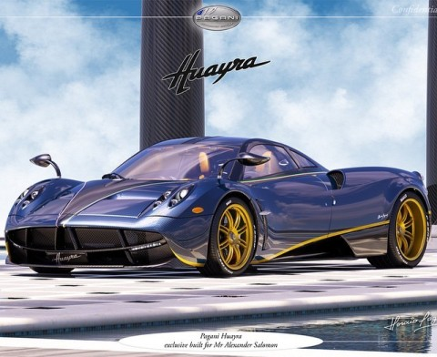 Pagani Huayra 730S: Unique piece