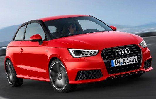 Alterations and new engines for the Audi A1